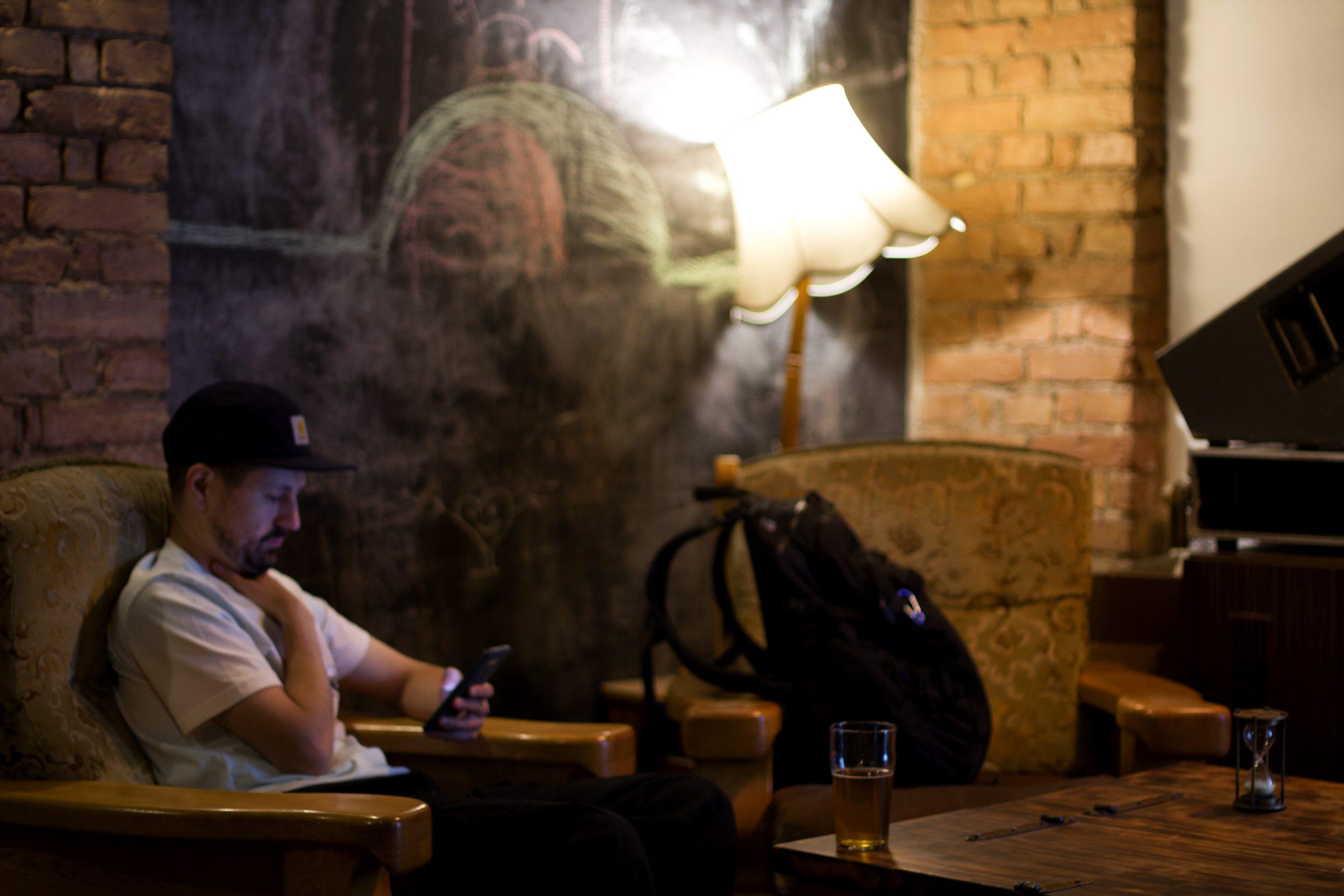 Laska bar party Photo reportage by Anna Gabo