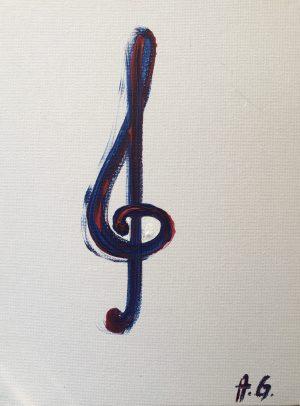 Acrylic on canvas — contemporary experiments